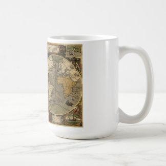 Carte de Jodocus Hondius 1595 du monde Mugs