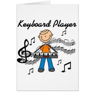 Carte de joueur de clavier