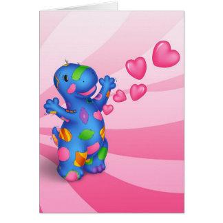 Carte de jour de Valentines de Dino-Buddies™ -