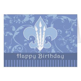 Carte de joyeux anniversaire de BSA
