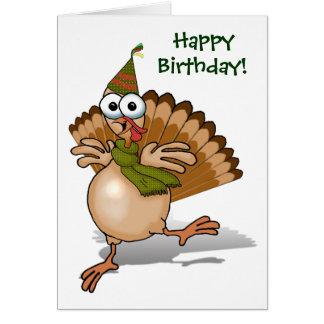 Carte de joyeux anniversaire de la Turquie