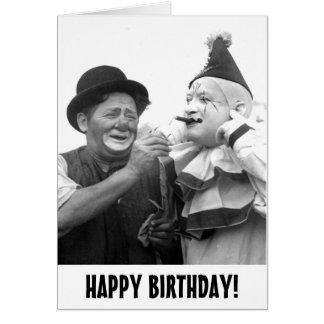 Carte de joyeux anniversaire : Espoir vous avez un