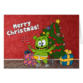Carte de Joyeux Noël de Gummibär