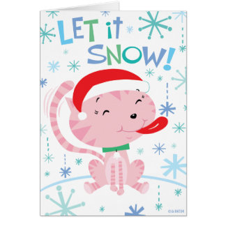 Carte de Kitty de Noël