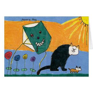 Carte de Kitty de soleil