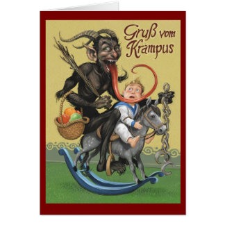 Carte de Krampus