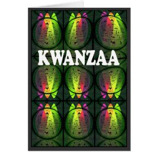 Carte de Kwanzaa