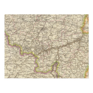 Carte de la Belgique et du Luxembourg