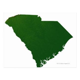 Carte de la Caroline du Sud