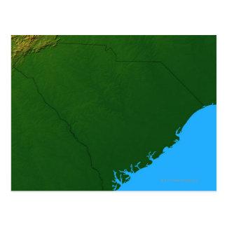 Carte de la Caroline du Sud 2