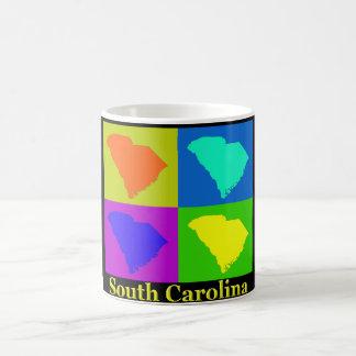Carte de la Caroline du Sud Mug