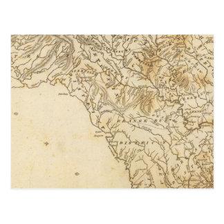 Carte de la Caroline du Sud par Arrowsmith