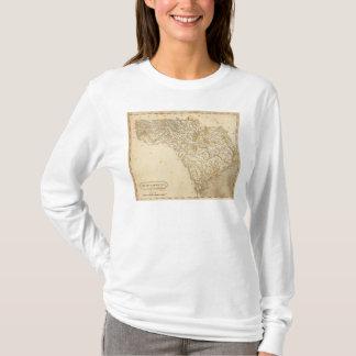 Carte de la Caroline du Sud par Arrowsmith T-shirt