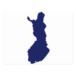 Carte de la Finlande