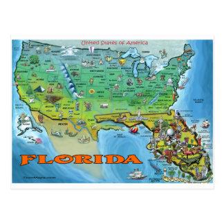 Carte de la Floride Etats-Unis
