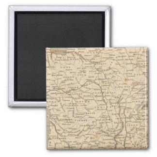 Carte de la France par Arrowsmith Magnet Carré