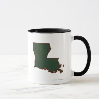 Carte de la Louisiane Mugs