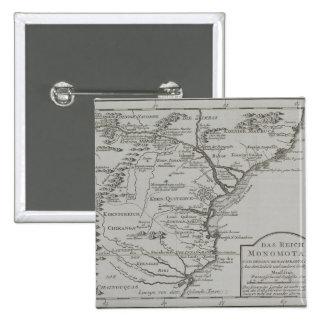 Carte de la Mozambique, Afrique Badges