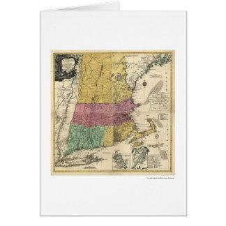 Carte de la Nouvelle Angleterre - 1777