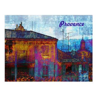 Carte de la Provence de soirée Cartes Postales