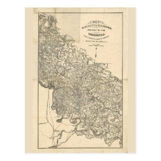 Carte de la proximité de Richmond la Virginie