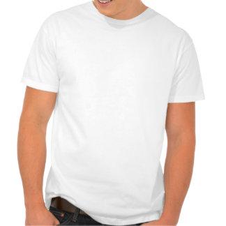 Carte de la République Dominicaine : Rayures T-shirt