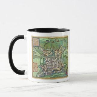 Carte de La Rochelle, de 'Civitates Orbis Terrarum Mug