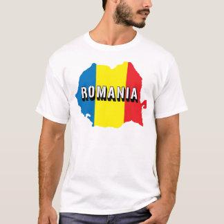 Carte de la Roumanie T-shirt