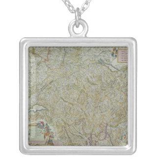Carte de la Suisse 2 Collier