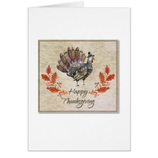 Carte de la Turquie d'aquarelle de thanksgiving