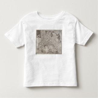 Carte de la Virginie, découverte et décrite par T-shirt Pour Les Tous Petits