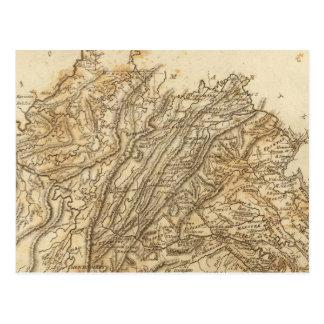 Carte de la Virginie par Arrowsmith