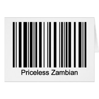 Carte de la Zambie
