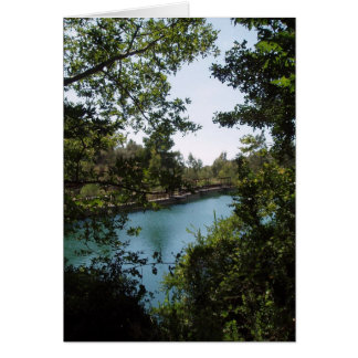 Carte de lac Zaros