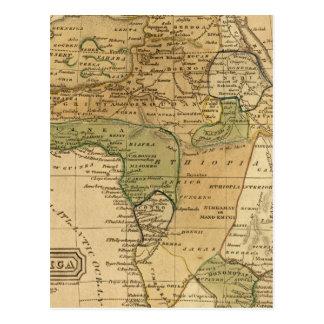 Carte de l'Afrique par Worcester