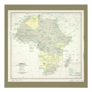 Carte de l'Afrique, statut administratif (avril