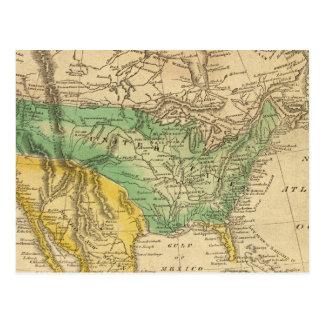 Carte de l'Amérique du Nord par Worcester