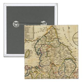 Carte de l'Angleterre et du Pays de Galles Pin's