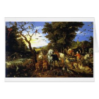 Carte de l'arche de Noé