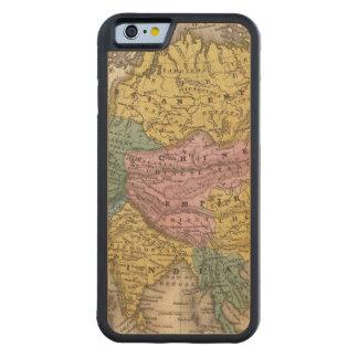 Carte de l'Asie Coque iPhone 6 Bumper En Érable