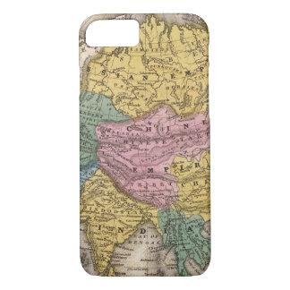 Carte de l'Asie Coque iPhone 7