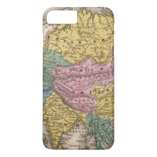 Carte de l'Asie Coque iPhone 7 Plus