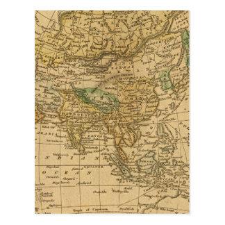 Carte de l'Asie par Worcester