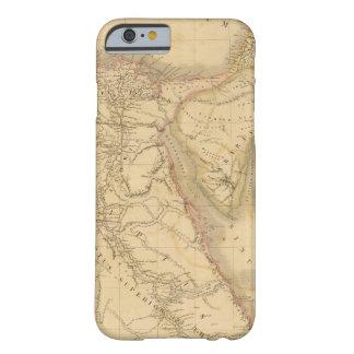 Carte de l'Egypte, de la Palestine et de l'Arabie Coque iPhone 6 Barely There