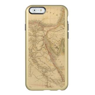 Carte de l'Egypte, de la Palestine et de l'Arabie Coque iPhone 6 Incipio Feather® Shine