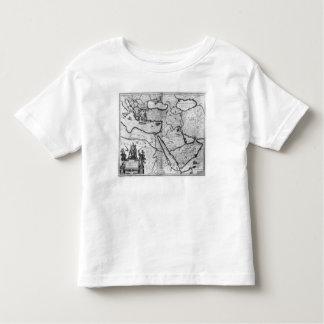 Carte de l'empire de tabouret t-shirt pour les tous petits