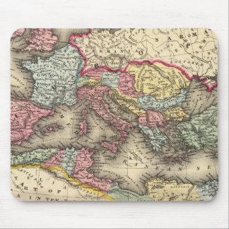 Carte de l'empire romain tapis de souris