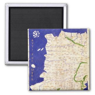 Carte de l'Espagne et du Portugal, de 'Geographia Magnet Carré