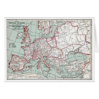 CARTE De l'EUROPE, 12ème siècle