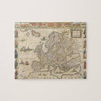 Carte de l'Europe 6 Puzzle